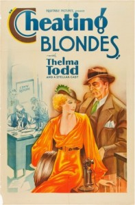 1933 cheating blondes