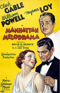 1934 Manhattan Melodrama