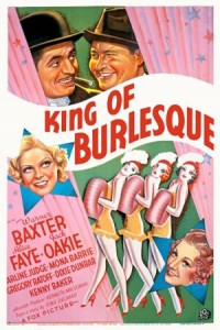 1936 King of Burlesque Poster