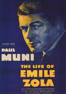 1937 The Life of Emile Zola