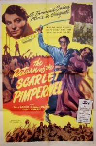 1937 return of the scarlet pimpernel