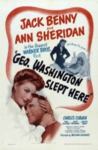 1942 George Washington Slept Here poster