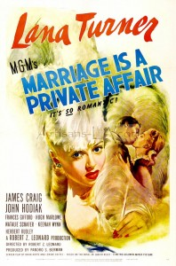 1944 Marriage is a Private Affair