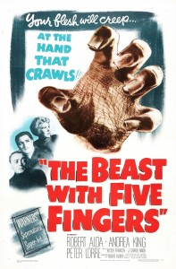 1946 The Beast with Five Fingers