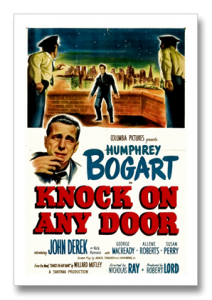 1949 Knock on Any Door Poster