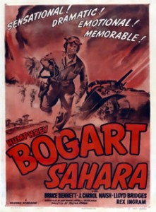 Sahara (1943) with Humphrey Bogart