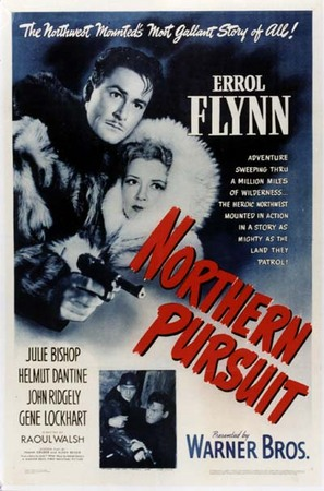Northern Pursuit movie poster