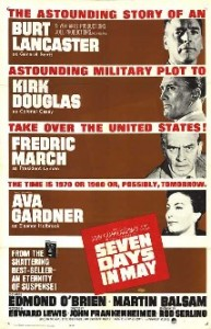 Seven Days in May (1964) starring Burt Lancaster