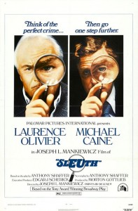 Sleuth (1972) with Laurence Olivier and Michael Caine