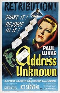 Address Unknown (1944) with Paul Lukas