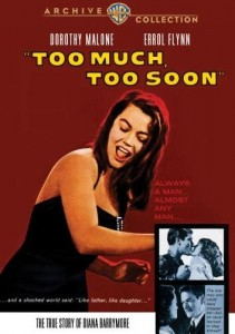Too Much, Too Soon (1958) with Errol Flynn
