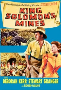 King Solomon's Mines (1950) with Stewart Granger and Deborah Kerr