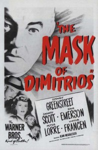 The Mask of Dimitrios (1944) with Peter Lorre and Sydney Greenstreet