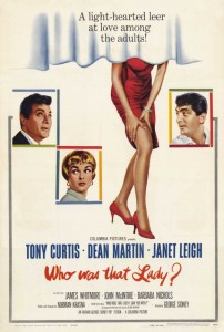 Who Was That Lady (1960) with Tony Curtis