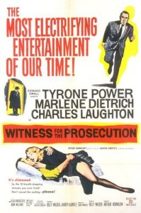 Witness for the Prosecution (1957) with Tyrone Power
