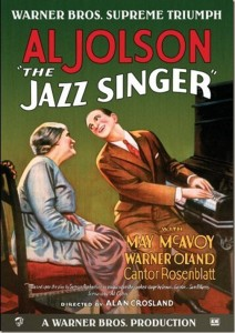 1927 the jazz singer